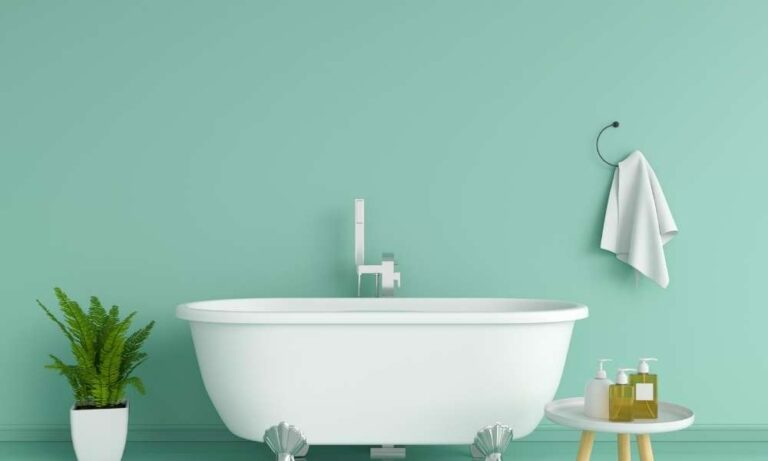 bathtub cleaning idea