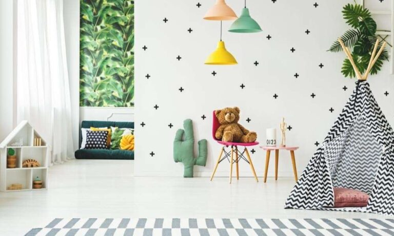 kids room décor accessories