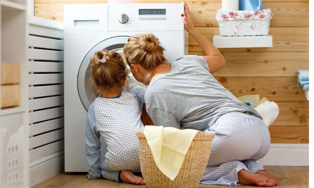 How to wash baby clothes in a washing machine