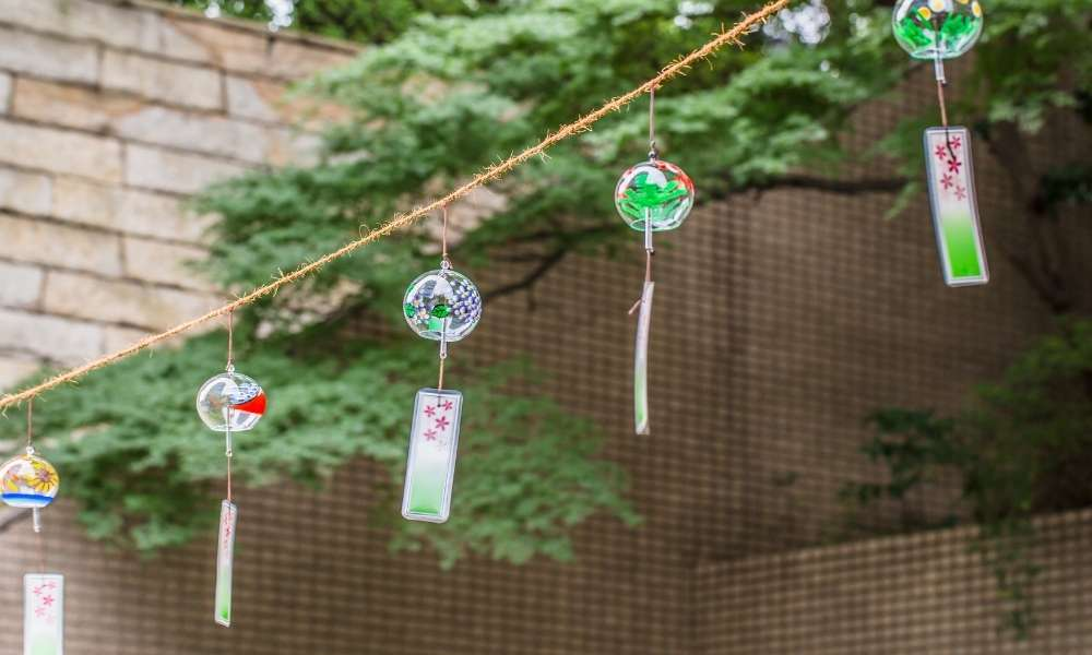 Arias wind chimes: carefully designed for specific tonal ranges