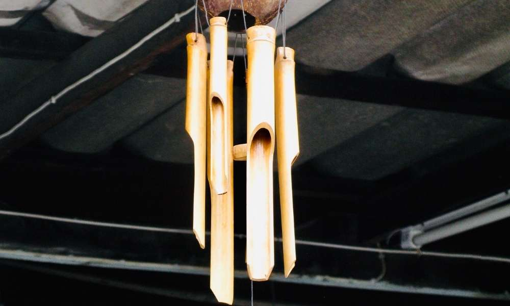 Bamboo Wind Chimes are an Eco-Friendly stress Reliever