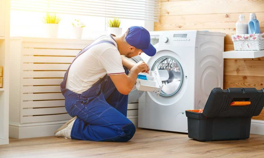 how to fix a washing machine that won't spin