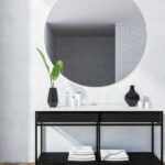 best black bathroom vanity
