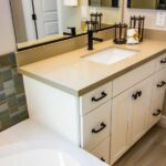 best farmhouse bathroom vanity